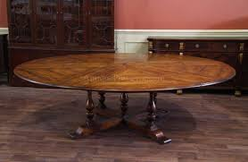 dining table that seats 10:  large round dining room tables magnificent extra large round country table with leaves seats