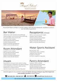 royal island resort spa job mv mar 14 royal island resort spa