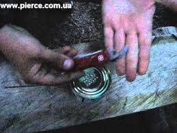 Как правильно открывать консервы <b>ножами</b> Victorinox и Wenger ...