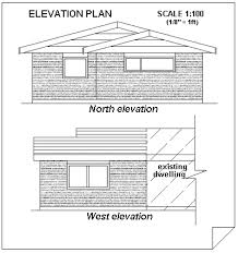 Understanding house construction plans   elevation viewelevation plan of a house