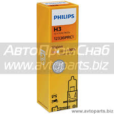 <b>Лампа</b> H3 <b>PHiLiPS Crystal</b> Vision +30% 12 В, 3200 К, 55 Вт ...