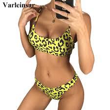 <b>NEW Sexy 2019</b> Leopard Bikini Women <b>Swimwear</b> Female ...