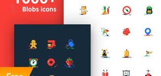 blobs 1000 free flat icons basic icons flat icons 1000