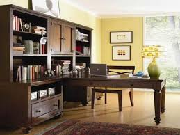 office workspace furniture amazing home office design for two people with charming brown great bookcase e charming cool office design 2