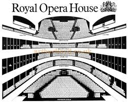 The Royal Opera House  Covent Garden  Bow Street  London  WC    A s   s Seating Plan for the Royal Opera House  Covent Garden