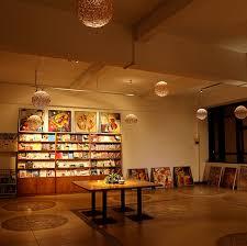 art gallery interior spaces exhibitions lighting fixture art track lighting