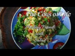 Cous-Cous Salad Recipe with Fresh Lemon & Coriander - YouTube