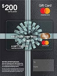 Amazon.com: $200 Mastercard Gift Card (plus $6.95 Purchase Fee ...