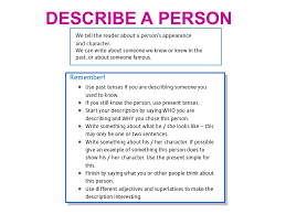 essay describing a person  wwwgxartorg description of a person descriptive essay purpose the purpose describe a person