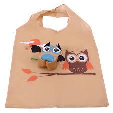<b>Cartoon</b> Shopping Bag <b>Portable</b> Cute Owl <b>Foldable</b> Tote Reusable ...