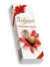 """Шоколадные конфеты """"<b>Сердечки</b>"""" 65г Belgian 9172484 в ..."""