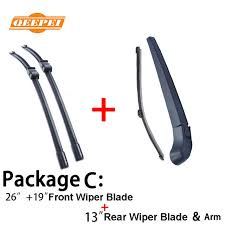 <b>QEEPEI Front and Rear</b> Wiper Blade Arm For BMW X3 F25 2010 ...