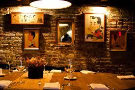 The Breslin Bar And Dining Room Pedestal