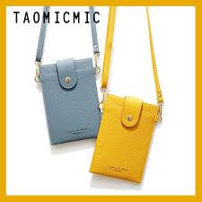 TAOMICMIC <b>Fashion Ultra</b>-<b>thin</b> Multifunction Wallet Women <b>Phone</b> ...