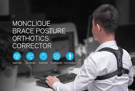 <b>Monclique Back Correction</b> Belt Posture Corrector Gearbest Coupon ...
