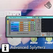 Advanced Splytterz | Ableton Live Pack | PerforModule | Isotonik ...