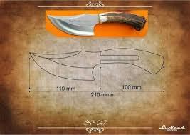 cuchillos plantillas con medidas - Pesquisa Google | Деревянные ...