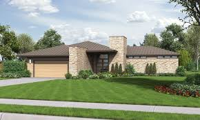 Modern Ranch House Plans   Home Design Ideas    Modern Ranch House Plans Best The Houston  Modern Ranch House Plan With Outdoor
