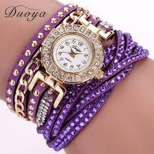 <b>Duoya</b> Watch Women Brand Luxury Gold Fashion <b>Crystal</b> ...