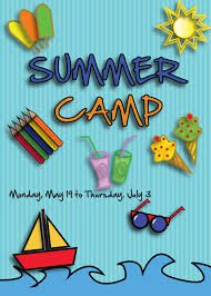flyer template for summer camp events