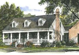 House Plans by John Tee  Louisiana Garden CottageFront Color Rendering Main Level Floor Plan