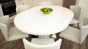 round glass extendable dining table: grace extendable dining table black extendable