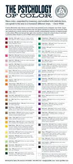 best ideas about psychology of color color the psychology of color good for picking paint colors and pairing those colors your
