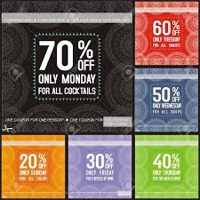 dinner coupon clipart clipartfest discount coupon set of color