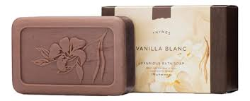 Купить <b>мыло Vanilla Blanc Luxurious</b> Bath Soap 170г Thymes ...