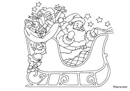 Small Picture Christmas Coloring Pages Sleigh Coloring Pages