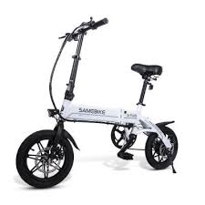 <b>Samebike YINYU14 Smart Folding</b> Bicycle Moped Electric Bike E ...