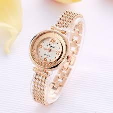 Elegant Design Shining <b>Women</b> Bracelet Watch <b>Rhinestone Quartz</b> ...