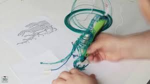 <b>3D</b> ручка Tiger3D <b>Round One</b> в действии - YouTube