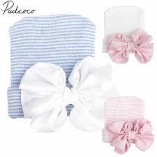 <b>2018</b> Brand <b>New Newborn Infant Baby</b> Girls Boys Hats Comfy ...