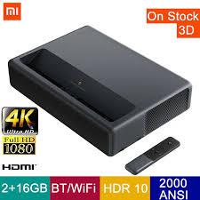 Xiaomi <b>Mijia Laser Projector 1S 4K</b> 2000ANSI Lumens 2GB 16GB ...