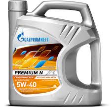 Gazpromneft <b>Premium</b> N 5W-40 - <b>Масло моторное</b> универсальное ...