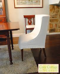 room white chair slipcovers minimalist dining sure fit cotton duck dining room chair cover bathroom
