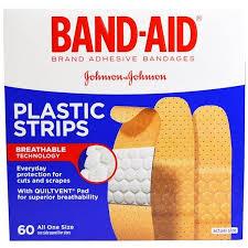 Band Aid, <b>Adhesive Bandages</b>, <b>Plastic</b> Str- Buy Online in Cambodia ...