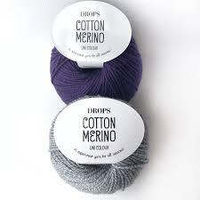 Пряжа <b>Drops</b> Cotton Merino – купить на Ярмарке Мастеров ...