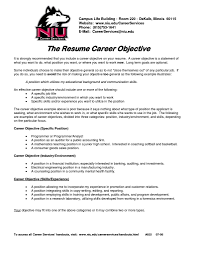 example of a resume career objective europass cv format for gallery of resume career objectives