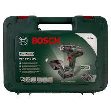 <b>Дрель</b>-<b>шуруповерт</b> аккумуляторная <b>Bosch PSR</b> 1440 LI-2, 14.4 В ...