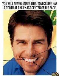 Tom Cruise Teeth via Relatably.com