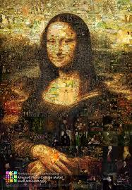 "<b>Collage</b> ""<b>Mona Lisa</b>"": Description, program parameters for creating ..."