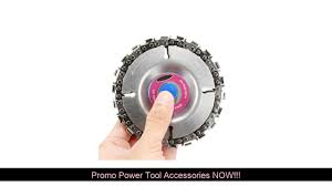 #Promo <b>ALLSOME 4 Inch Grinder</b> Disc and Chain 22 Tooth Fine Cut ...