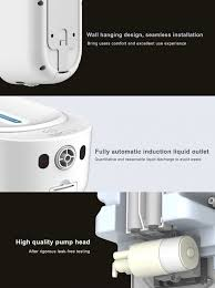 [COD] <b>Automatic induction</b> soap dispenser <b>wall hanging</b> hand ...