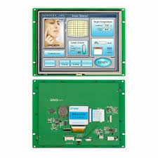 <b>8.0</b> Inch Touch LCD <b>TFT</b> Monitor/Display RS232 with LCD Touch ...