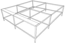<b>Большое расширение для стола</b> Evolution Bench 240 | www.gt-a.ru