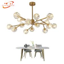 Modern <b>Crystal Chandelier Lighting</b> Living Dining Room <b>LED</b> ...