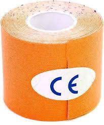 "Кинезиотейп ""<b>Bradex</b>"", цвет: оранжевый, 5 см х 5 м — купить в ..."