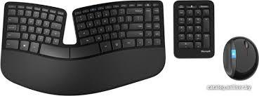 Клавиатура + <b>мышь Microsoft Sculpt Ergonomic</b> Desktop (L5V ...